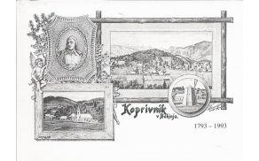 Ob 200-letnici Vodnikovega služnovanja na Koprivniku so razglednico ponatisnili. Vir: Osebni arhiv Anje Poštrak