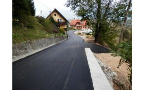 Obnovljena cesta.