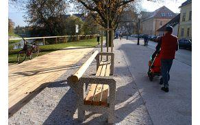 Krakovski nasip v Trnovem. Foto: Arhiv MOL.