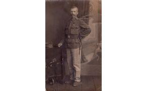 Kristjan Kompara iz Lokavca, 1917