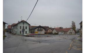 Križišče v Mokronogu. (foto: arhiv Občina Mokronog-Trebelno)