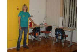 """V lepo urejenem in """"domačem"""" kriznem centru lahko hkrati biva osem otrok. Foto: Nataša Bucik Ozebek"""