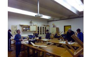 Učenci pri delu