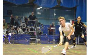 Ksenija Kmetič na svetovnem prvenstvu v racketlonu – skvoš
