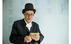Miran Urih med recitalom