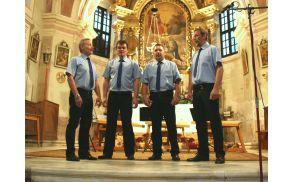 Kvartet Frankolovo med nastopom
