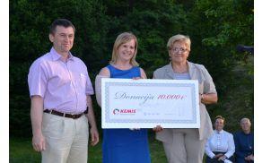 Donacija Kemisa - 10 tisoč evrov