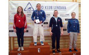 Lia Ludvik - 1. mesto v kategoriji do 57 kg  (U16) - (foto : MD)
