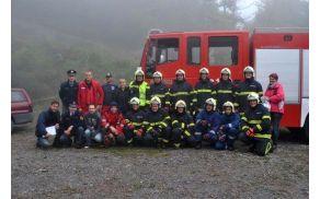 Gasilcem, reševalcem in policistom gre zahvala za uspešno izvedbo vaje in vse delo, ki ga opravljajo.
