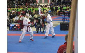 Mirko Boltar iz Deskel se je na SP prebil v četrtfinale. Foto: Miha Kovačič