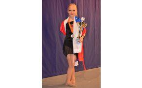 Svetovna prvakinja v jazz baletu