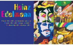 Prihaja razstava plaktov Heinza Edelmanna.