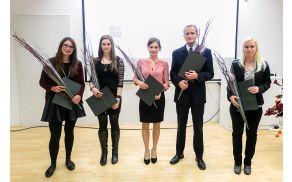 Dobitniki Škrabčeve štipendije za študijsko leto 2014/15