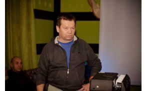 Predavatelj Vili Podgoršek.