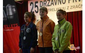 META DOBROVOLJC - državna prvakinja in državna rekorderka
