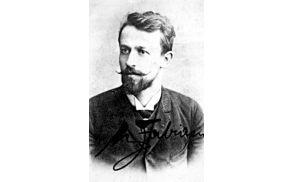 Maks Fabiani ob diplomi, 1892  Vir: Marko Pozzetto