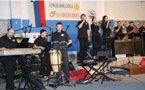 Na sliki: Med nastopom The Moonlinghting Orchestra v Braslovčah, vir: občina Braslovče