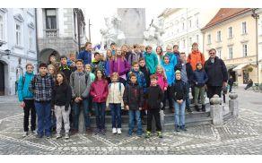 Ministranti dekanije Nova Cerkev v Ljubljani