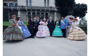 Obletnica odhoda Maksimiljana v Mehiko na Miramaru. Foto: Borut Jurca