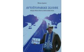 Avtoštoparske zgodbe Mirana Ipavca. Foto: Naslovnica knjige