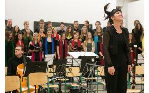 Dirigentka Almira Rogina Foto: Jure HORVAT