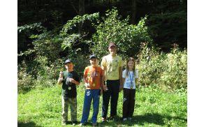 Mladinski zmagovalci Naj Ribič 2011