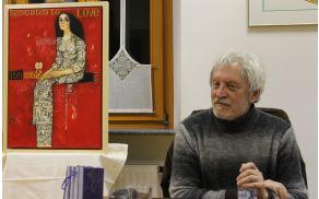 Akademski slikar Rudi Skočir. Foto: arhiv Občine Kobarid