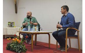 Gregor Čušin in Peter Perše