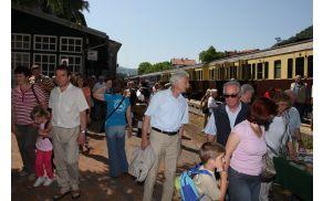 Slovenske železnice so odstopile prostor OŠ na postaji v Kanalu. Foto: Toni Dugorepec