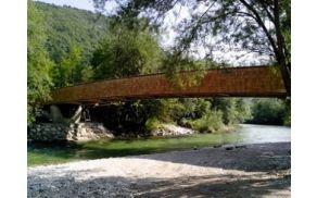 Nov most preko Save Bohinjke