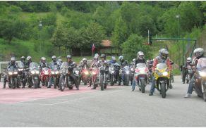 Moto Wic Dow 2011: pred odhodom na panoramsko vožnjo. Foto: arhiv društva