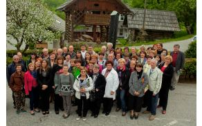 K Mreži rokodelcev Srca Slovenije je na ustanovnem dnevu na GEOSS-u slovesno pristopilo 40 prvih članov (foto: Matej Povše)