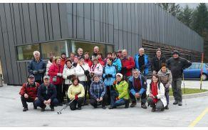 Skupinska slika pred Slovenskim planinskim muzejem