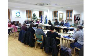 Nadaljevanje 2. redne seje Občinskega sveta Občine Kobarid. Foto: Nataša Hvala Ivančič
