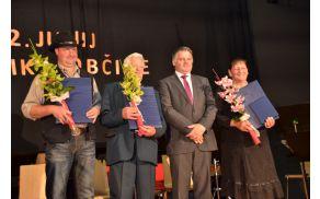 Ciril Bizjak ml., Peter Brcar, Rupert Gole in Tilka Gorenc