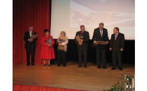 Nagrajenci 2012 KS Kanal. Foto: Ivan Mencin