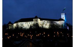 Ljubljanski grad je obiskalo skoraj milijon obiskovalcev. (foto: Dunja Wedam, Turizem Ljubljana)