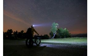 Nočno nebo na Voglu, foto: arhiv žičnic Vogel