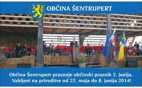 Občina Šentrupert praznuje občinski praznik 2. junija