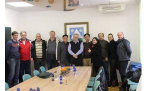 Kitajska gospodarstvenika je sprejel župan Robert Kavčič.