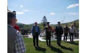 Breginj je obiskal Anton Momatyuk, namestnik vojaškega atašeja na Veleposlaništvu Ruske federacije. Foto: Marijan Čebokli