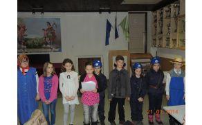 Najmlajši so pred pričetkom občnega zbora uprizorili igro z gasilsko tematiko.