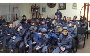 Udeleženci občnega zbora podmladka PGD Vojnik