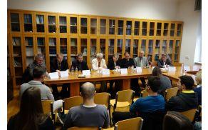 Ob petdesetletnici IHP UNESCO se je odvila okrogla miza na temo voda Slovenije v tranziciji