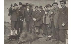 Ustanovitelji Lovskega društva Vransko