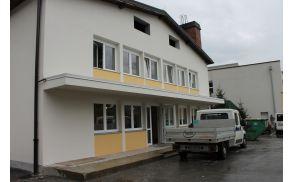 Energetsko sanirana OŠ Kobarid. Foto: Nataša Hvala Ivančič