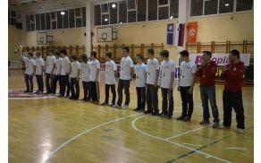 KMN Oplast Kobarid - kategorija U-15. Foto: David Istenič