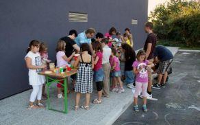Otroška ustvarjalna delavnica v Vrtojbi