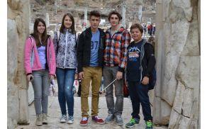 Predstavniki Osnovne šole Vojnik v Turčiji