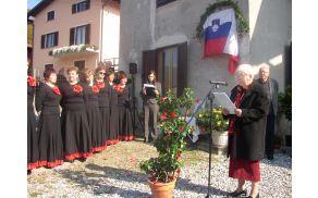 Življenje Katarine Marinič je predstavila Silva Matevžič. Foto: Nataša Bucik Ozebek